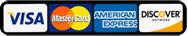 Visa, MC, Discover & AMEX