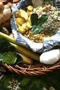 Herbal Thai Massage Basket