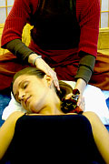Thai Herbal Massage on Neck