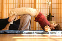 Image result for thai massage picture of bridge pose