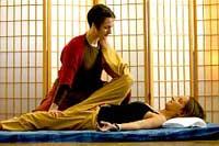 Thai Massage Hamstring Stretch